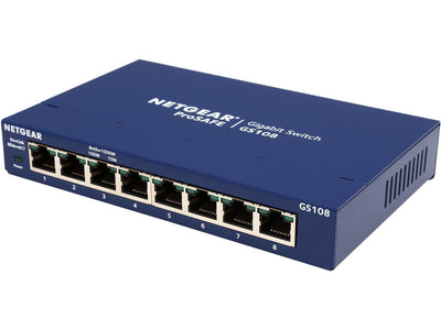 Netgear ProSAFE GS108 8-Port Gigabit Switch