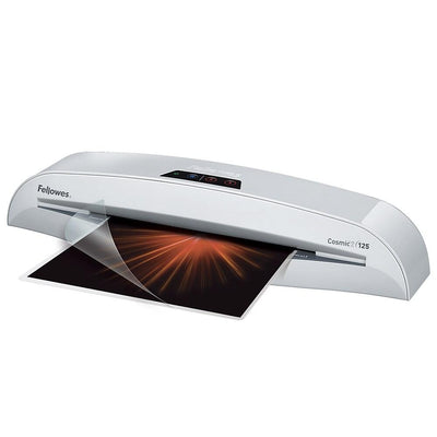 Fellowes Cosmic 2 125 Laminator with Pouch Starter Kit, 12.5""