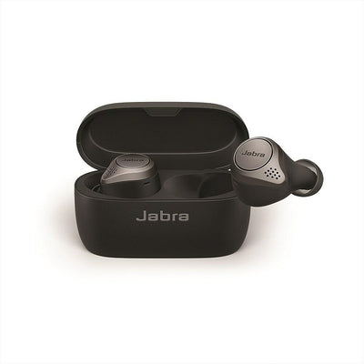 Jabra Elite 75t In-Ear Wireless Earbuds Titanium Black