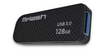 MFlash MFU-31281BWBLKR 128GB USB 3.0 Flash Drive Black