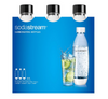 SodaStream Carbonating Bottles 3-Pack Black