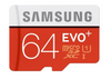 Samsung EVO Plus MB-MC64D 64GBClass 10 Micro SDXC with Adapter