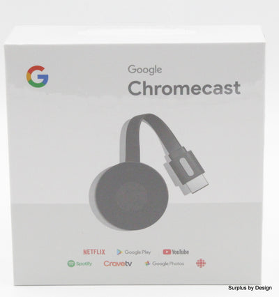 LOT OF 5 Google Chromecast 2015 HDMI Streaming Media Player