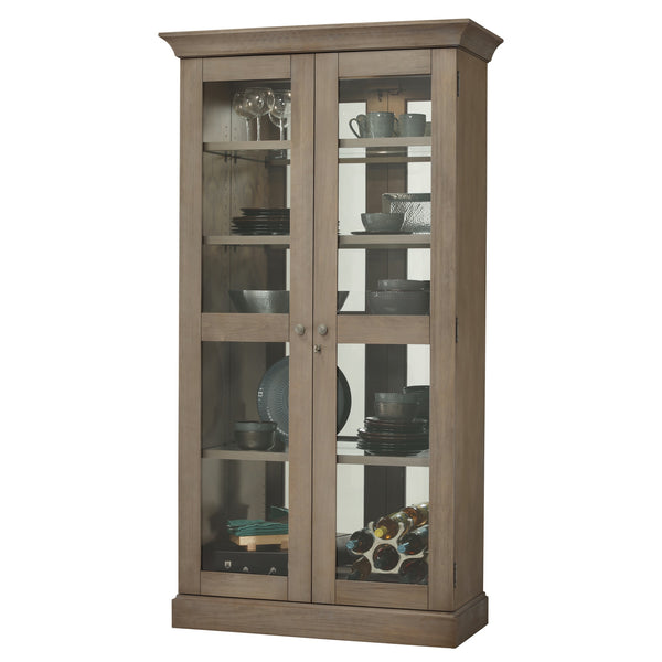 "Howard Miller Densmoore II 80"" Display Cabinet"