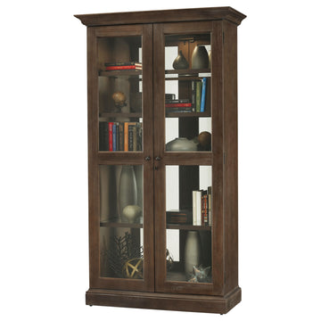 "Howard Miller Lennon 80"" Display Cabinet"