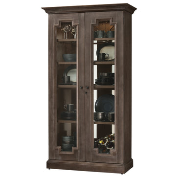 "Howard Miller Chasman 80"" Display Cabinet"