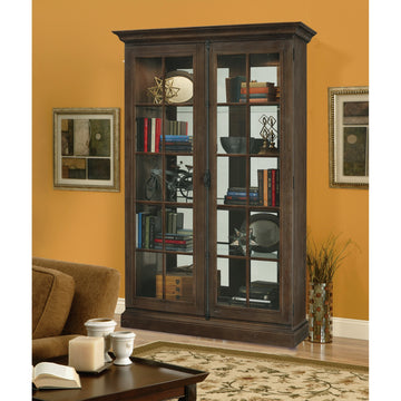 "Howard Miller Clawson 80"" Display Cabinet"