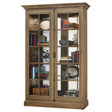 "Howard Miller Clawson II 80"" Display Cabinet"