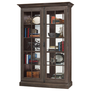"Howard Miller Clawson III 80"" Display Cabinet"