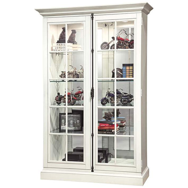 "Howard Miller Clawson V 80"" Display Cabinet"