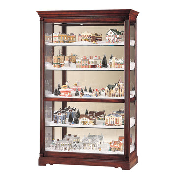 "Howard Miller Townsend 80"" Curio Cabinet"