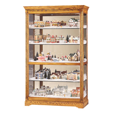 "Howard Miller Parkview 80"" Curio Cabinet"