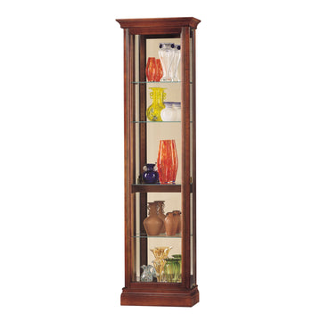 "Howard Miller Gregory 73"" Curio Cabinet"