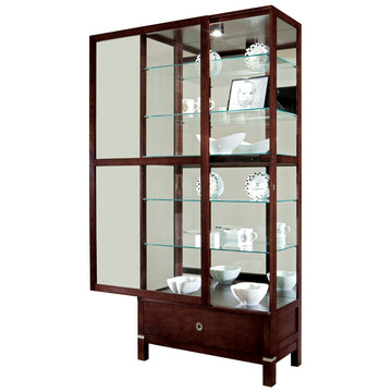 "Howard Miller Williamson 78"" Curio Cabinet"