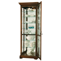 "Howard Miller Chesterbrook 78"" Curio Cabinet"