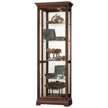 "Howard Miller Brantley VI 75"" Curio Cabinet"