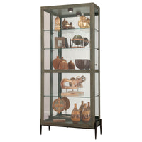 "Howard Miller Ansel II 78"" Curio Cabinet"