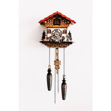 Hermle Hedwig Owl Ornament Cuckoo Clock