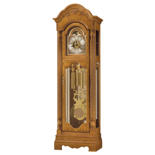 "Floor Clock - Howard Miller Kinsley 86"" Mechanical Grandfather Floor Clock"
