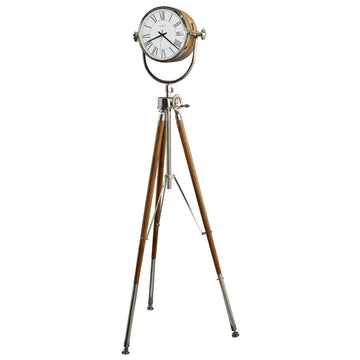 "Howard Miller Neeko 68"" Tripod Quartz Floor Clock"