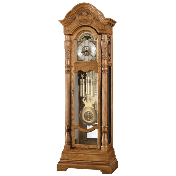 "Floor Clock - Howard Miller Nicolette 90"" Mechanical Grandfather Floor Clock"