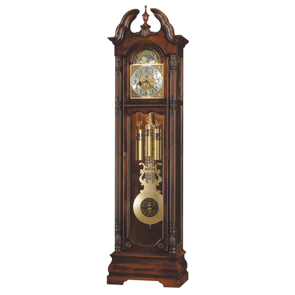 "Floor Clock - Howard Miller Ramsey 86"" Mechanical Grandfather Floor Clock"