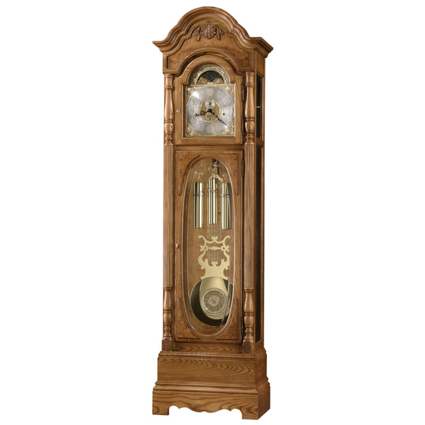"Floor Clock - Howard Miller Shultz 84"" Mechanical Grandfather Floor Clock"