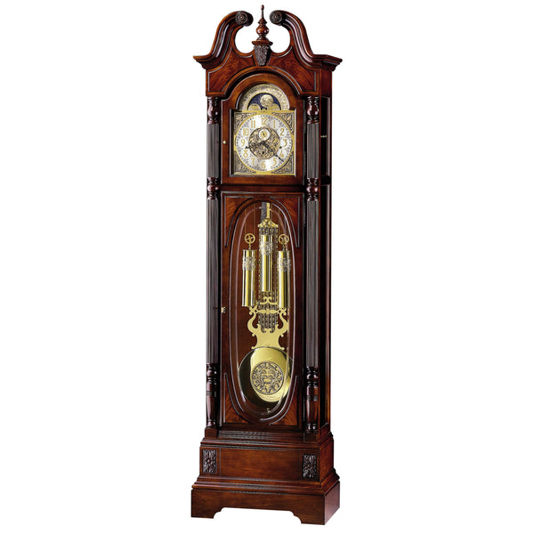 "Floor Clock - Howard Miller Stewart 86"" Mechanical Grandfather Floor Clock"
