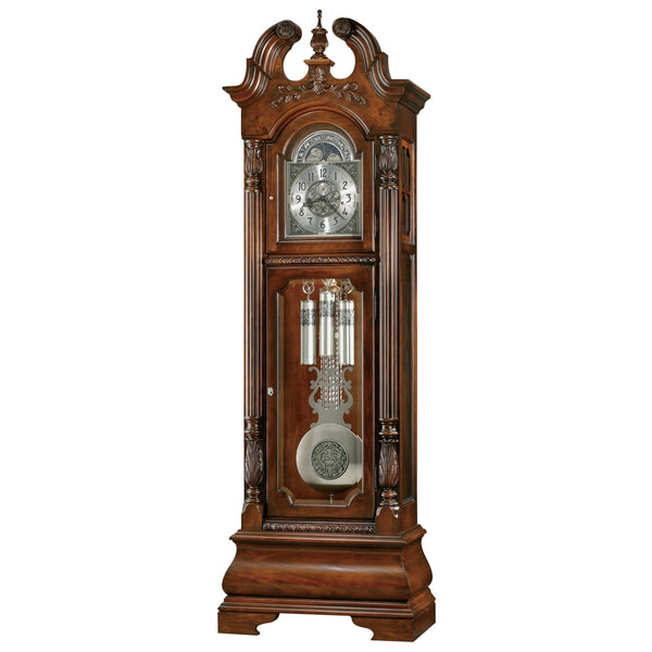"Floor Clock - Howard Miller Stratford 93"" Mechanical Grandfather Floor Clock"