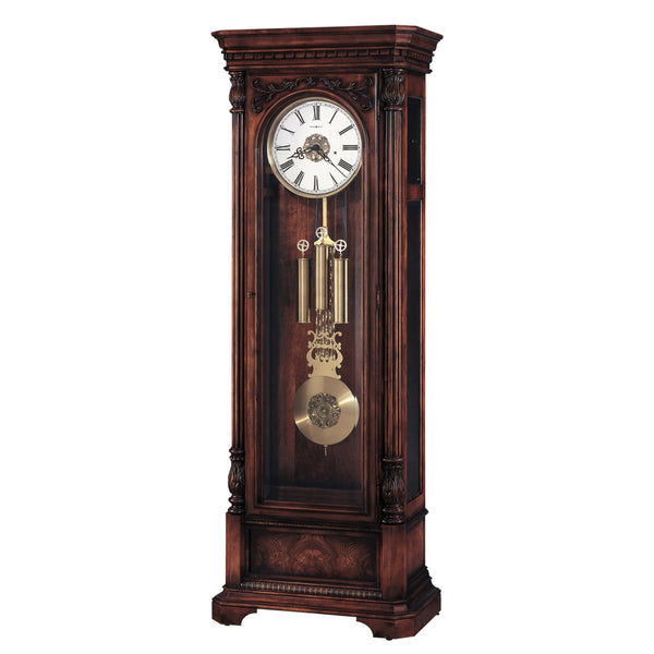 "Floor Clock - Howard Miller Trieste 88.5"" Mechanical Grandfather Floor Clock"