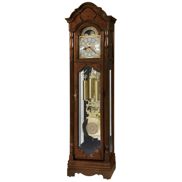 "Floor Clock - Howard Miller Wilford 83"" Mechanical Grandfather Floor Clock"