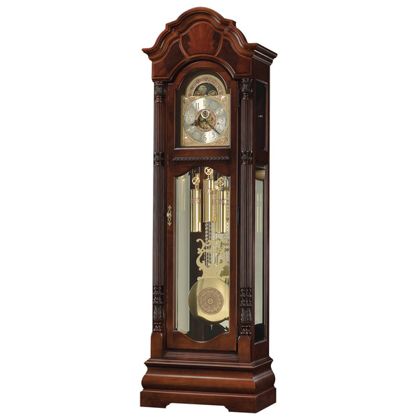 "Floor Clock - Howard Miller Winterhalder II 88.5"" Mechanical Grandfather Floor Clock"