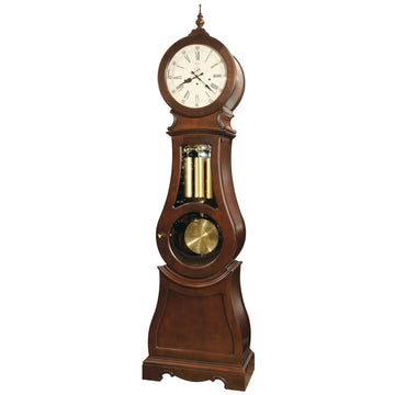 "Ridgeway Broman 89.5"" Mechanical Grandfather Floor Clock"