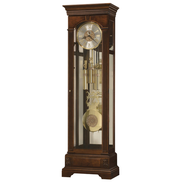 "Floor Clock - Ridgeway Mildenhall 81"" Mechanical Grandfather Floor Clock"