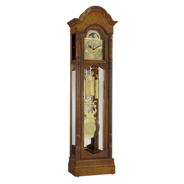"Floor Clock - Ridgeway Primrose 84"" Mechanical Grandfather Floor Clock"