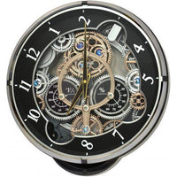 Magic Motion Clock - Rhythm Small World Gadget Magic Motion Wall Clock