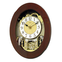 Magic Motion Clock - Rhythm Small World Grand Nostalgia Entertainer Magic Motion Wall Clock