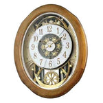 Magic Motion Clock - Rhythm Small World Joyful Anthology Magic Motion Wall Clock