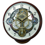 Magic Motion Clock - Rhythm Small World Widget Magic Motion Wall Clock