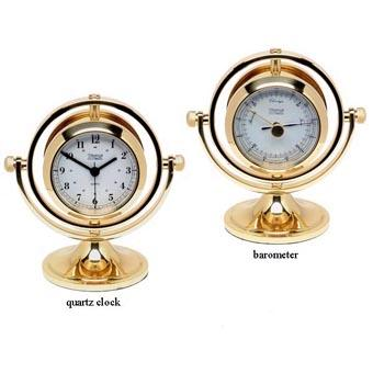 Marine Clock - Weems And Plath Skipjack Clock And Barometer Combo Pack