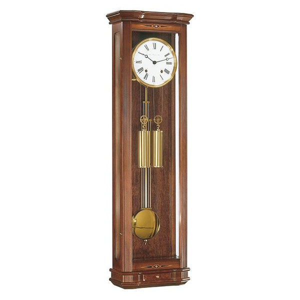 "Regulator Wall Clock - Hermle Clapham 36"" Large Size Mechanical Chime Wall Clock"