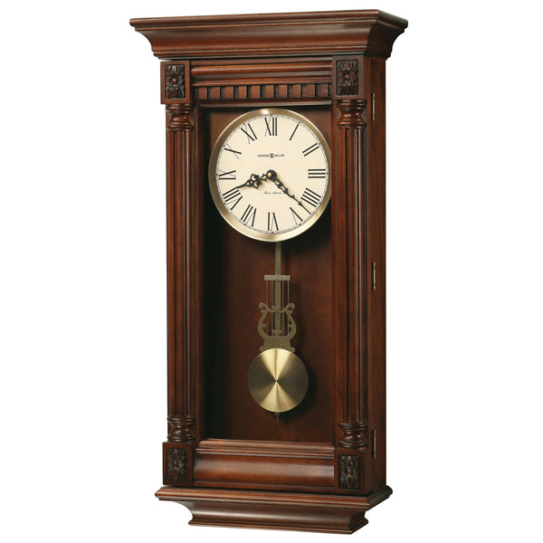 "Regulator Wall Clock - Howard Miller Lewisburg 27"" Regulator Wall Clock"