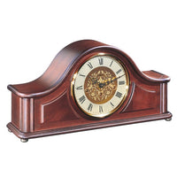 "Table Clock - Hermle Acton 8"" Mahogany Table Clock"