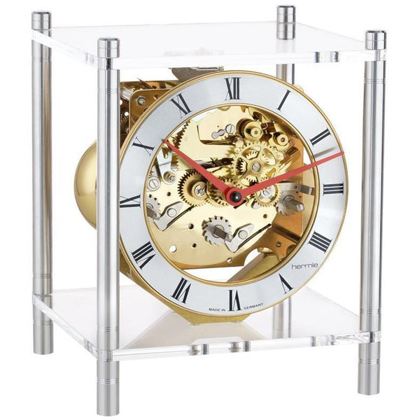 "Table Clock - Hermle Apollo 7.5"" Modern Luxury Table Clock"