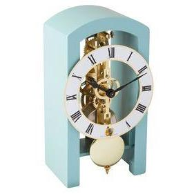 "Hermle Patterson 7.1"" Wooden Arched Table Clock"