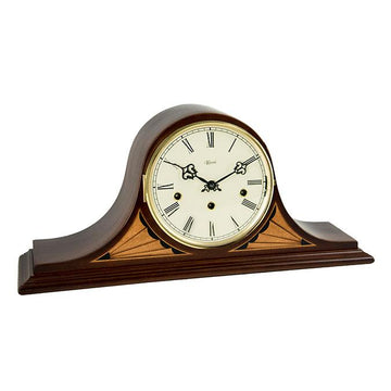"Hermle Remington 9"" Elegant Tambour Table Clock"