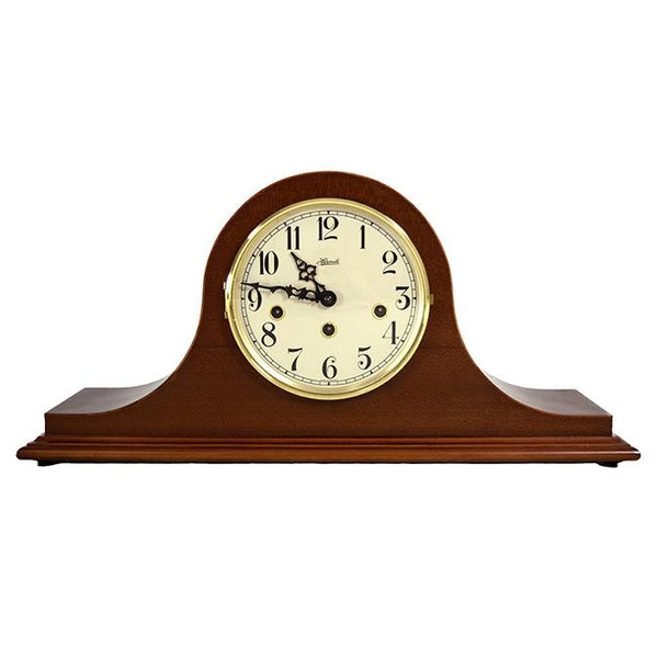 "Table Clock - Hermle Sweet Briar 20"" Traditional Mechanical Table Clock - Cherry"