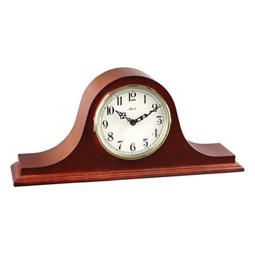"Hermle Sweet Briar 20"" Traditional Quartz Dual Chime Table Clock - Cherry Finish"
