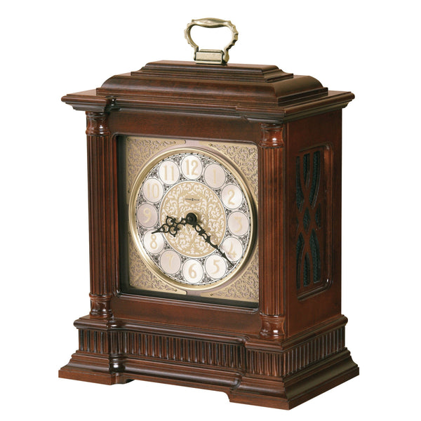"Table Clock - Howard Miller Akron 16.5"" Bracket Mantel Clock"