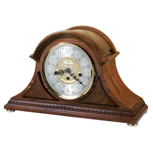 "Table Clock - Howard Miller Barrett II 11"" Mantel Clock"